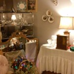 Our Vintage Room was sparkling with Christmas