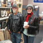 Bonnie and Stitch are our weekly visitors, they brighten our store every week!