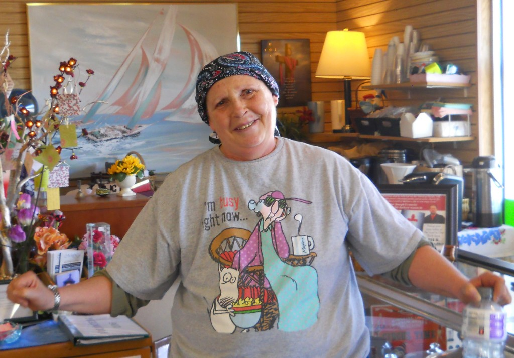 Our sweet Debbie happened upon our store one day after she moved to Idaho.  That same day, she asked if she could volunteer doing anything.  Of course!  Since then, she comes in twice a week to polish the store and help Sue in the Book Room.  We love her gentle, loving spirit and her servant's heart!