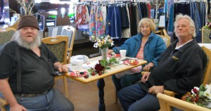 Some of our sweet customers who make weekly visits to our shop