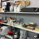 A WALL OF KITCHEN APPLIANCES & GADGETS!