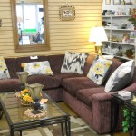 This lovely, plush sectional is in excellent condition! $195